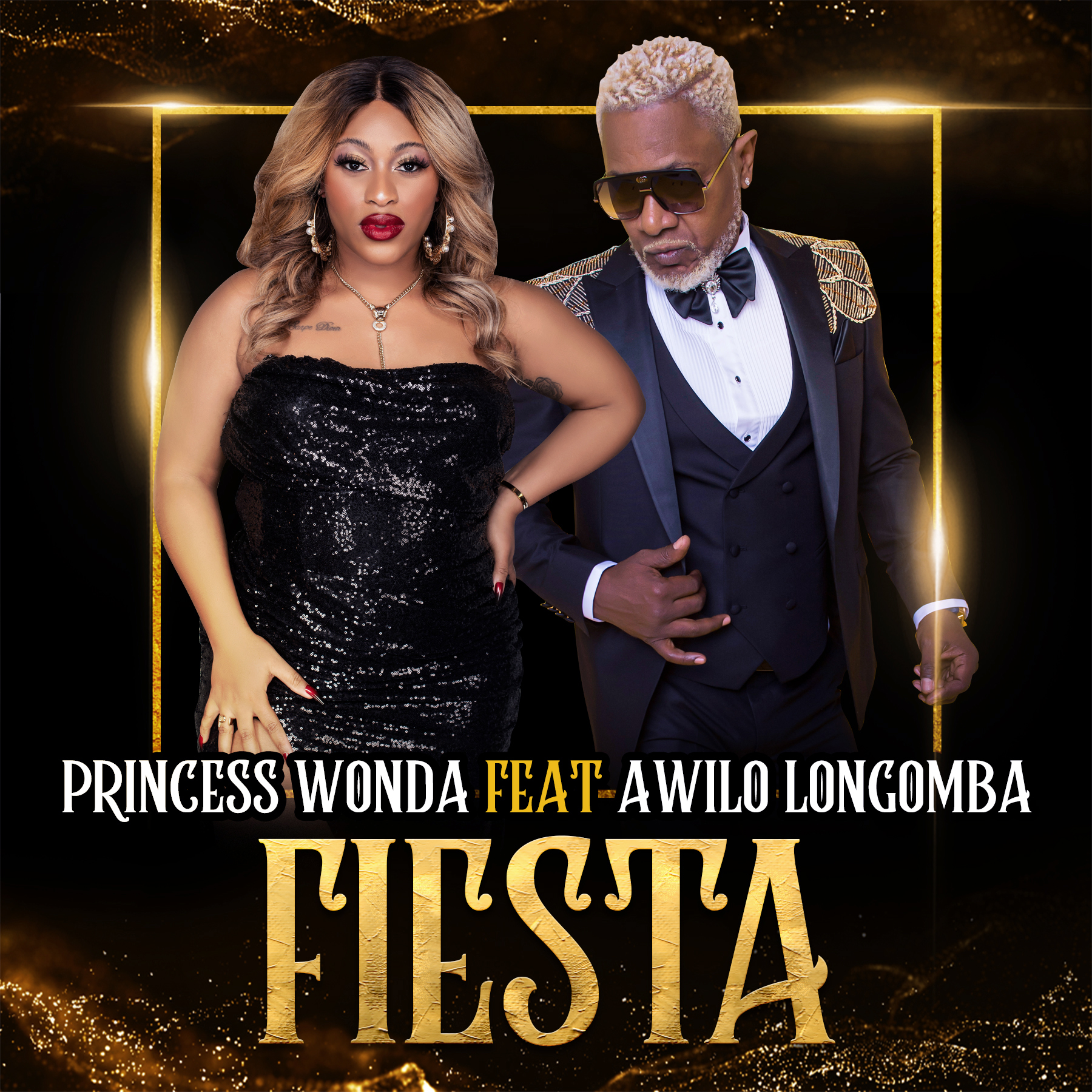 Princess Wonda's party single featuring Awilo Longomba