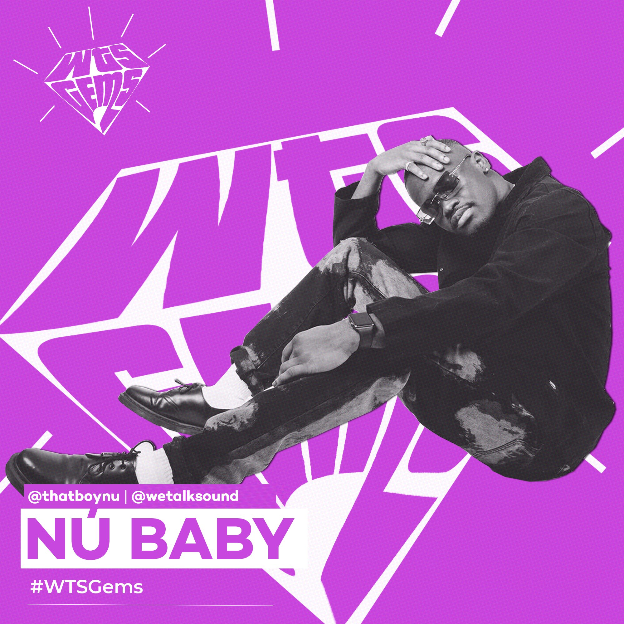 WTSGems: Meet Nu Baby, the music head who wanted to be Wizkid.