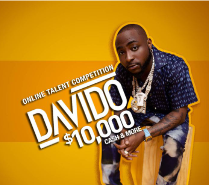 Davido celebrates 10 years in the game with  talent competition and $10,000 in cash prizes.