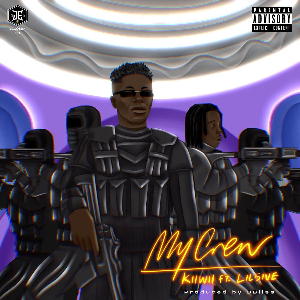 Kiwii and Lil5ive celebrate on new single.